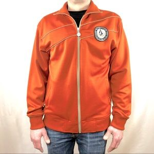 Volcom Track Jacket Orange Size XLarge